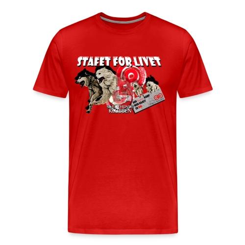 Stafetteam png - Herre premium T-shirt