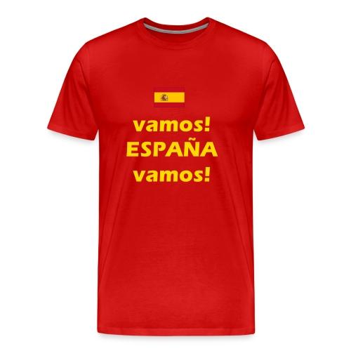 hup Spanje hup - Viva Espana - Mannen Premium T-shirt