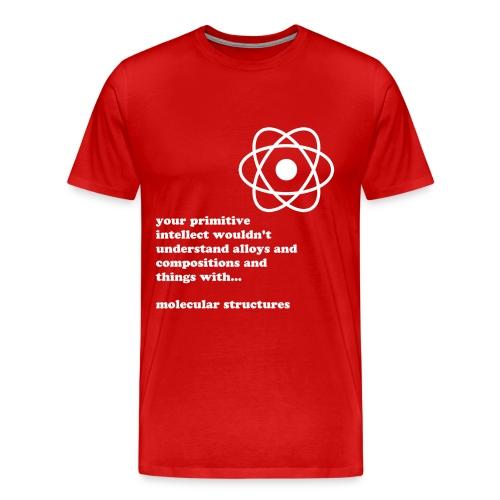 Molecular Structure - Men's Premium T-Shirt