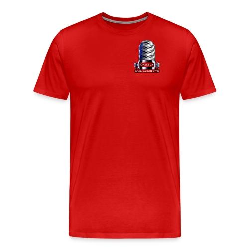 OKiTALK.com Logo - Mikrofon - Männer Premium T-Shirt
