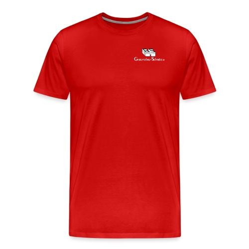 GS TShirt schwarz weiss - Männer Premium T-Shirt
