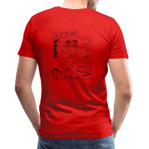 Årets t shirt med korte ærmer 2019 - Herre premium T-shirt