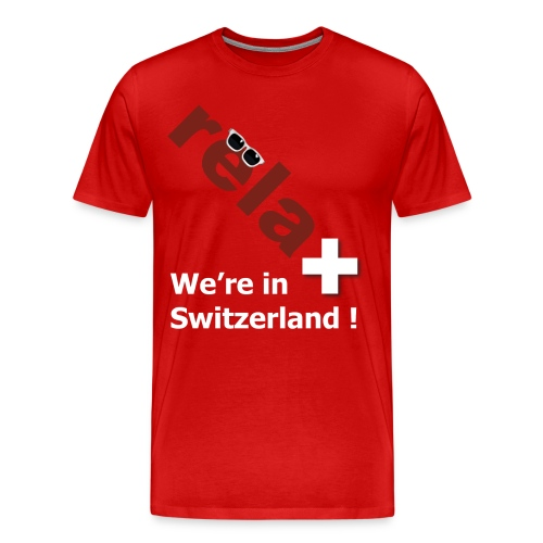 relaxed in Switzerland - Männer Premium T-Shirt