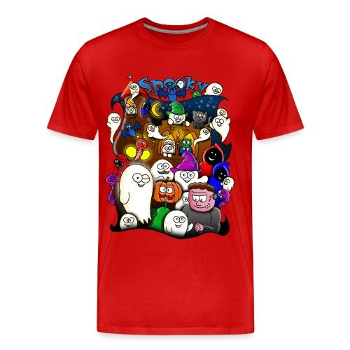 Spooky - Mannen Premium T-shirt