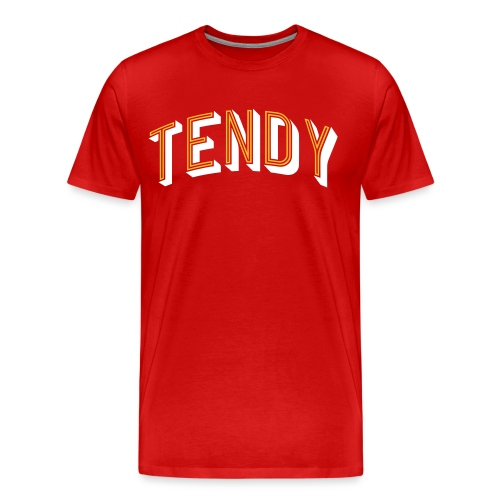 Hockey Goaltender - Tendy - Men's Premium T-Shirt