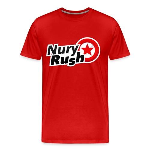 NuryRush Logo png - Maglietta Premium da uomo