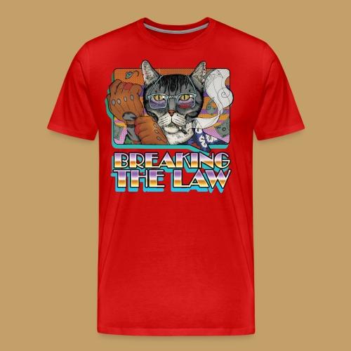 Crime Cat- Breaking the Law - Koszulka męska Premium