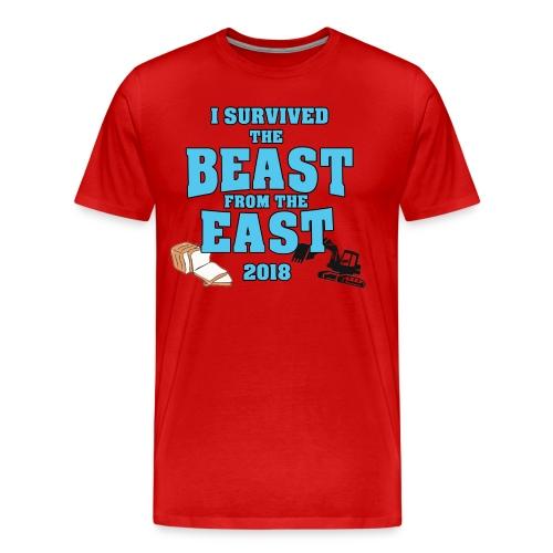 Beast from the East Survivor - Men's Premium T-Shirt