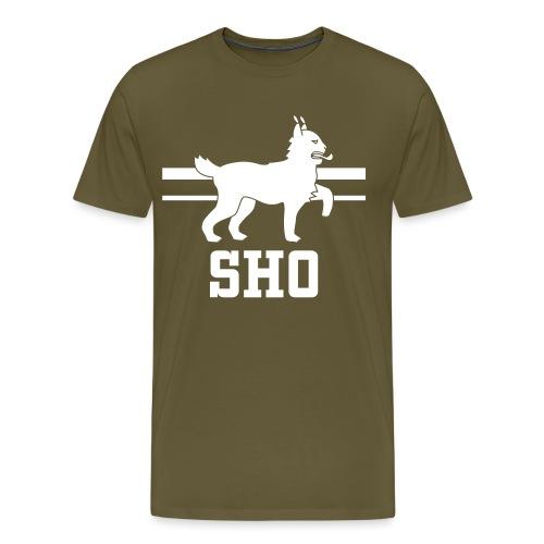 SHO Häme - Miesten premium t-paita