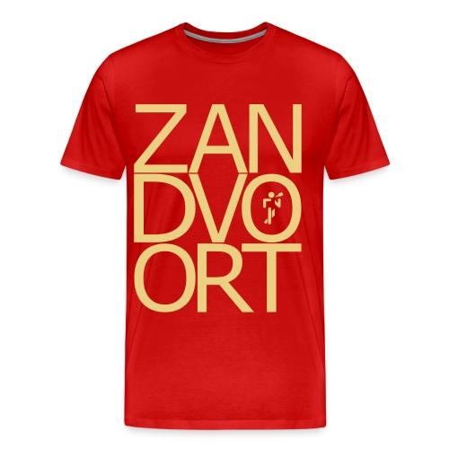 Zandvoortschrift_high - Männer Premium T-Shirt