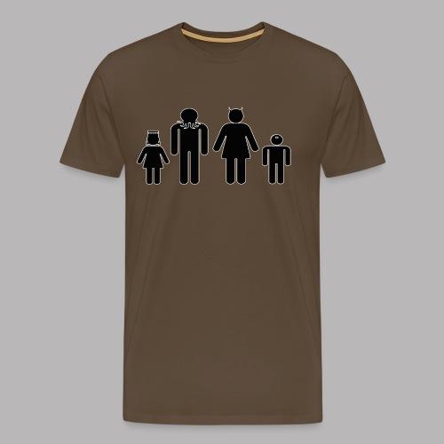 Freaky Family - Men's Premium T-Shirt