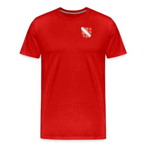 Blason de l'Alsace - T-shirt Premium Homme