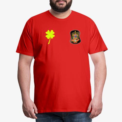 Trébol de la suerte / Escudo de España - Camiseta premium hombre