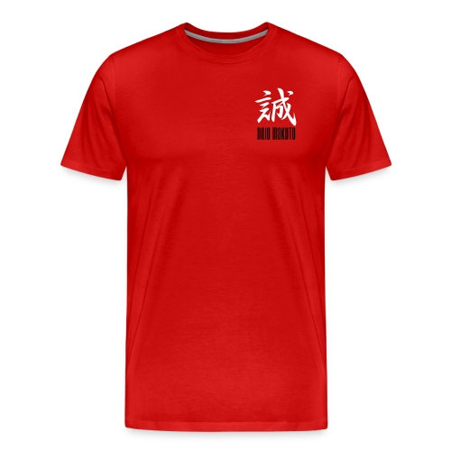 makoto dojo neg - Männer Premium T-Shirt