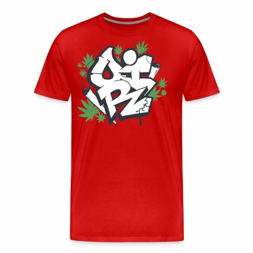 OIR-graffiti - Herre premium T-shirt