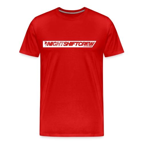 nsc_lic_contourBLANC - T-shirt Premium Homme
