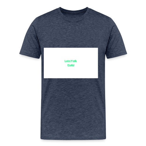LetsTalk ColU - Men's Premium T-Shirt