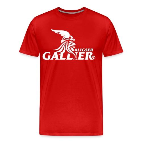 Transfer Gallier schwarz - Männer Premium T-Shirt