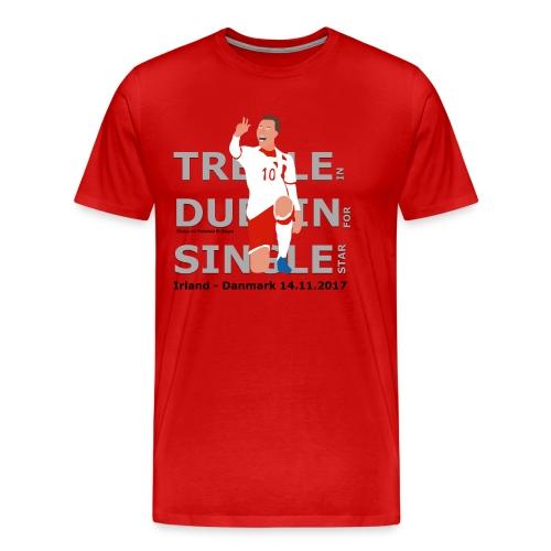 Treble in Dublin for Single Star - Herre premium T-shirt