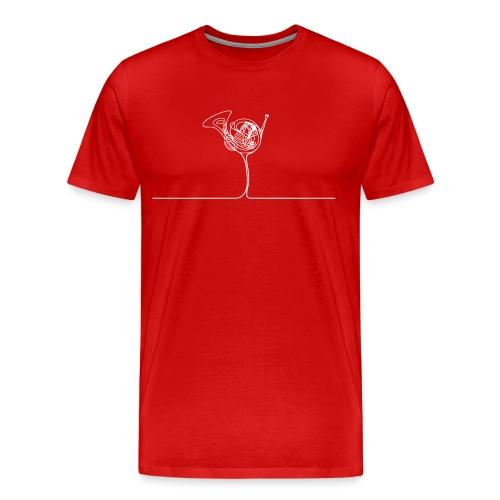 horn_dribble - Männer Premium T-Shirt