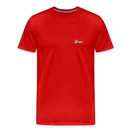 Logo Zinge! klein - Mannen Premium T-shirt