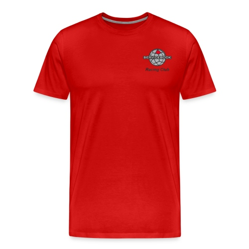 Servicebook Racing Club - Maglietta Premium da uomo