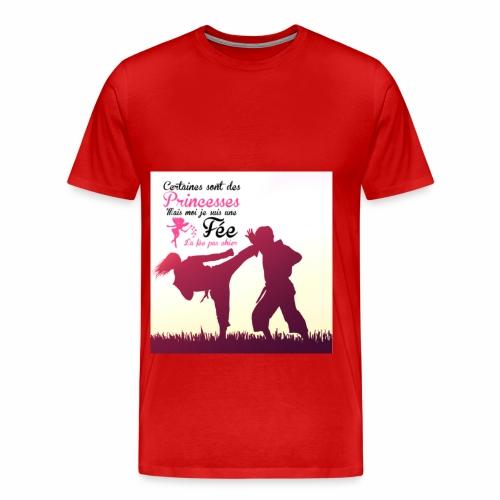 La princesse - T-shirt Premium Homme