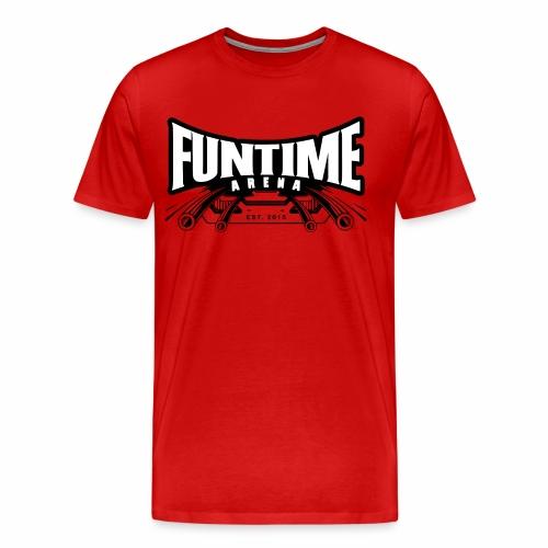 FunTime Logo Weißer text - Männer Premium T-Shirt