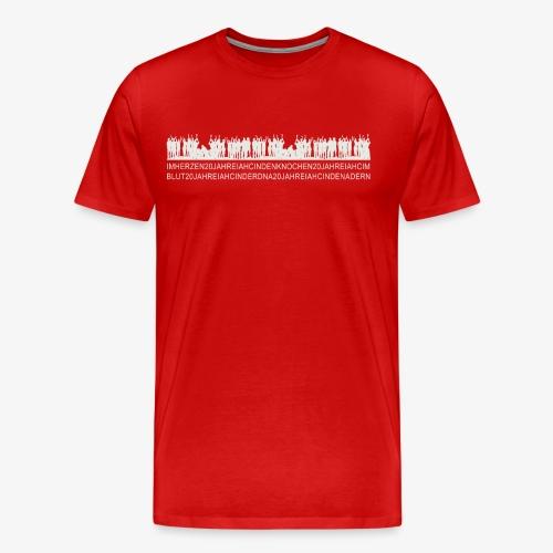 IHAC 20YRS Celebration Shirt - Männer Premium T-Shirt
