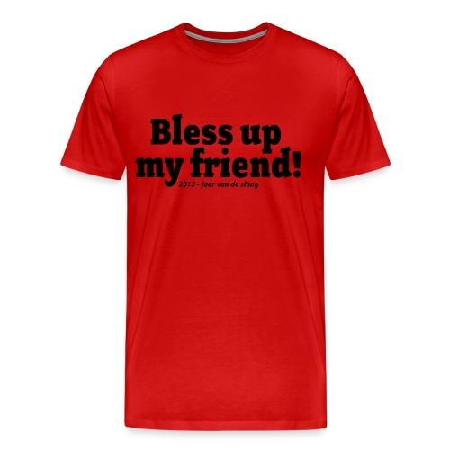Jaar van de Slang - Mannen Premium T-shirt