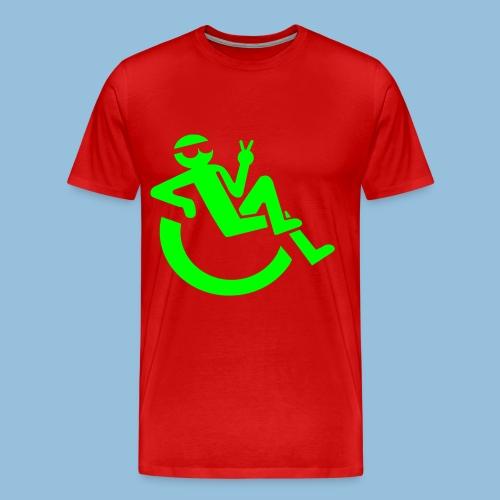 Happyweelchair1 - Mannen Premium T-shirt