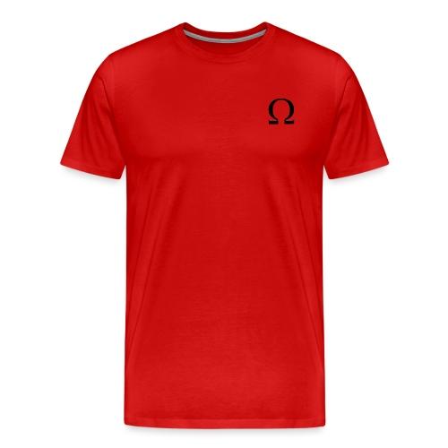 [Ω] OMEGA Logo - Men's Premium T-Shirt
