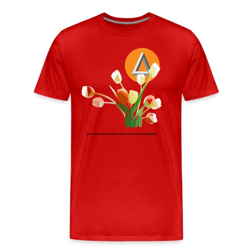 tulipan png - Mannen Premium T-shirt