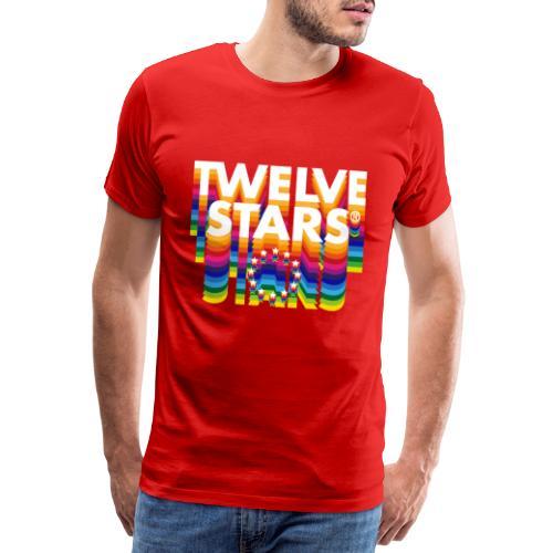 TWELVE STARS® EURO RETRO - Men's Premium T-Shirt