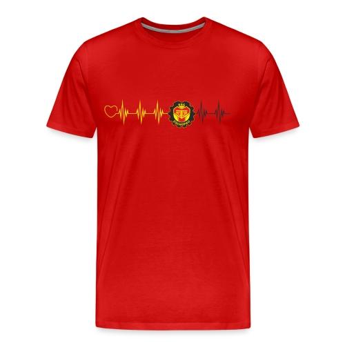 Pulslinie - Männer Premium T-Shirt
