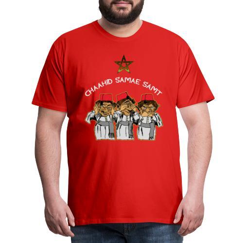 Mocro HZZ - Mannen Premium T-shirt