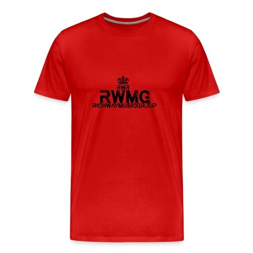 RWMG_Black 2 - Mannen Premium T-shirt