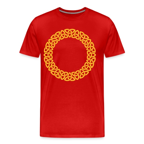 Triskele Circle - Men's Premium T-Shirt