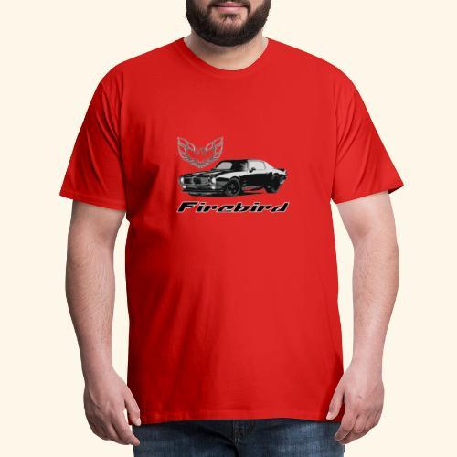 Pontiac Firebird - Mannen Premium T-shirt