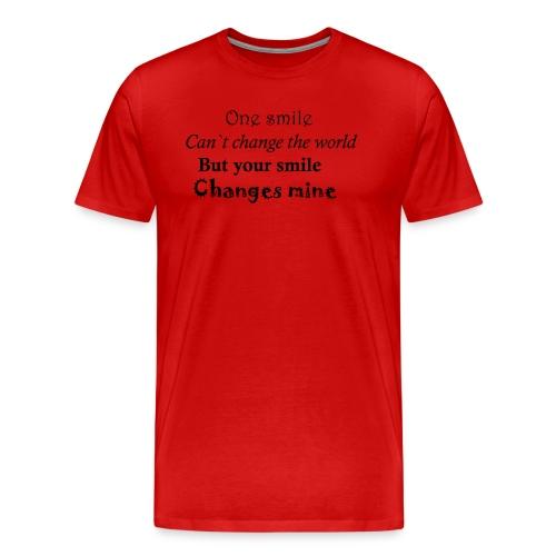 Life quote - Mannen Premium T-shirt