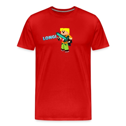 Kämpfender Longi Shirts - Männer Premium T-Shirt