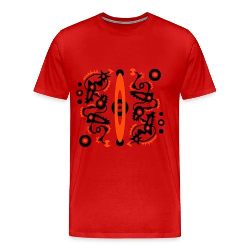 Tribal T-Shirt Design - Männer Premium T-Shirt