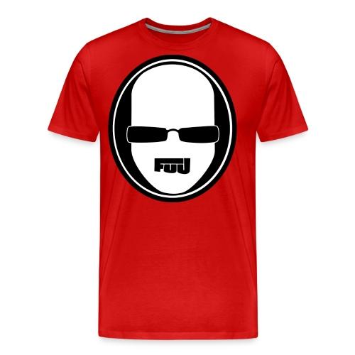 fuu kopflogo weiss png - Männer Premium T-Shirt