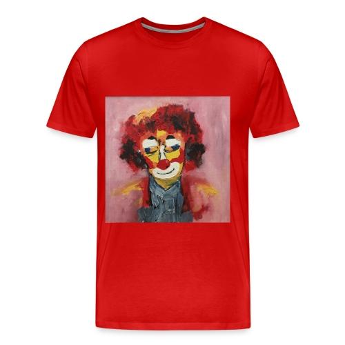Clown - Maglietta Premium da uomo