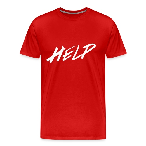 Help - T-shirt Premium Homme