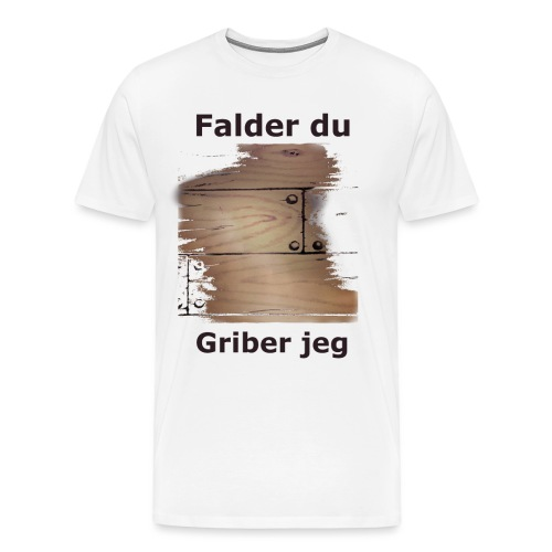 Gulvet Griber - Herre premium T-shirt