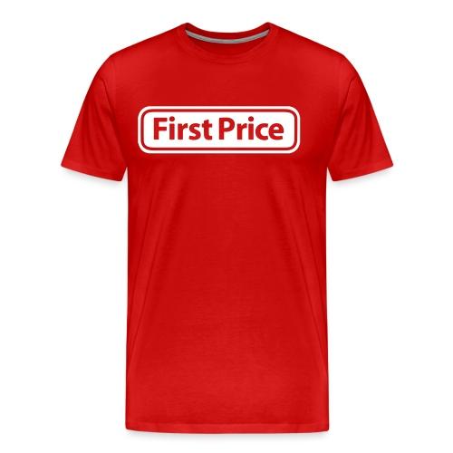 First Price - Premium T-skjorte for menn
