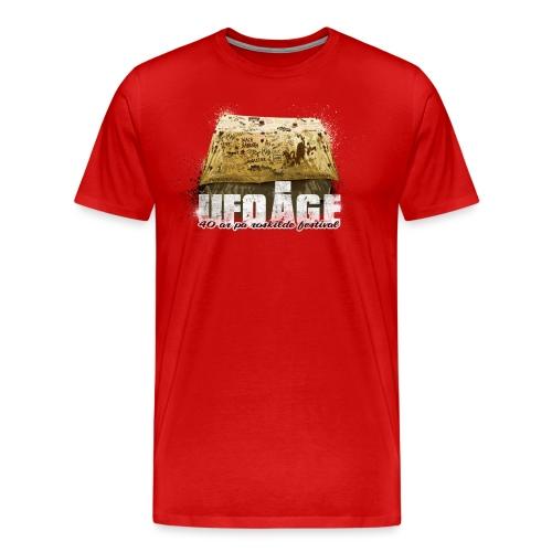 ufotelt - Herre premium T-shirt