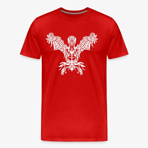 Angel Tribal - Männer Premium T-Shirt