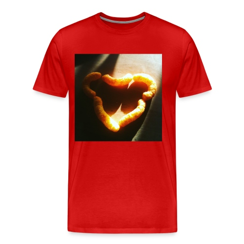 I love cheese doodles - Premium-T-shirt herr